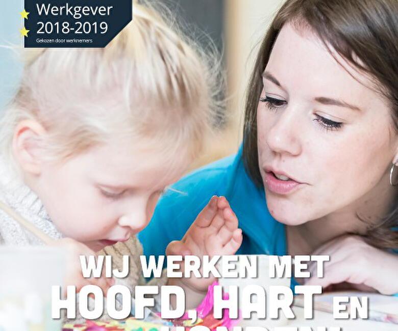 Kinderopvang Humanitas ontvangt keurmerk 'Beste Werkgever 2018-2019'